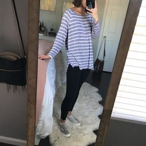 Aerie Light-weight Striped Sweater